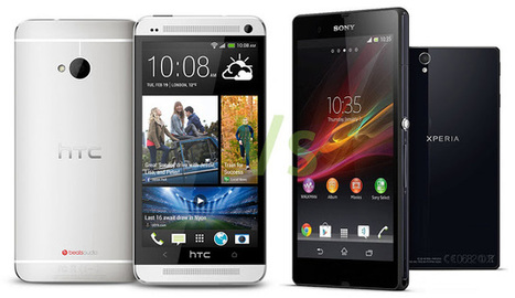 HTC One Vs Xperia Z Comparison - Features Specifications Differences | Android Gyan | Scoop.it