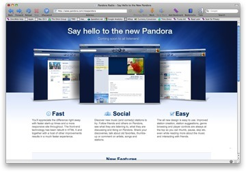 Pandora Drops Flash for HTML 5 | News | The Mac Observer | New Digital Media | Scoop.it