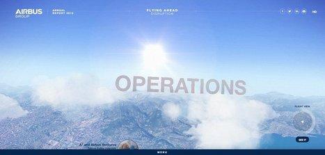 Airbus Group   Web Design Inspiration   Web design inspiration   Scoop.it