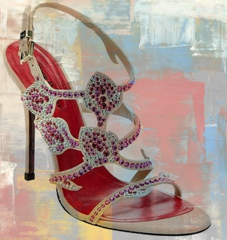 Cesare Paciotti shoes, the collection of jeweled sandals and pumps S/S 2012 | Le Marche & Fashion | Scoop.it
