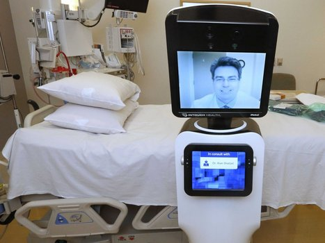 Robots Let Doctors 'Beam' Into Remote Hospitals | Healthcare, Digital and Social landscapes | Scoop.it
