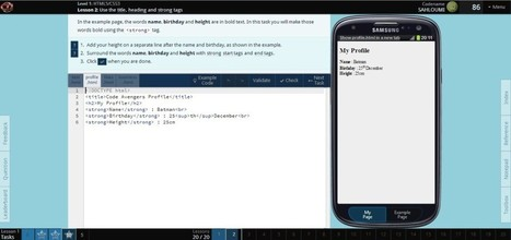 3 outils efficaces pour apprendre le code en webdesign | Au fil du Web | Scoop.it
