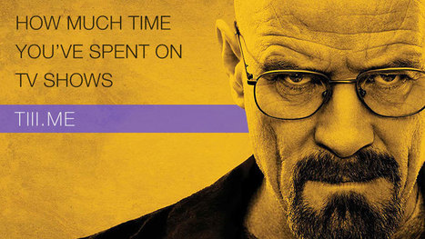 Calculate your total time spent watching TV shows | TV shows & Cinema | Scoop.it