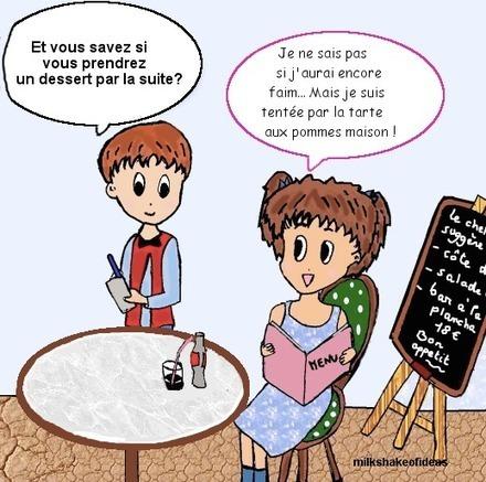 Au restaurant (A1/A2) | Nouvelles EDU - FLE | Scoop.it