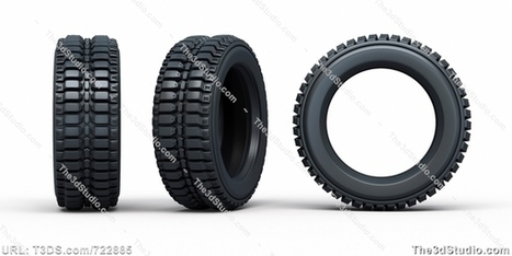 Vehicle tires iisolated and clipping path Stock Photo S - The 3D Studio | New Graphics BD | Scoop.it