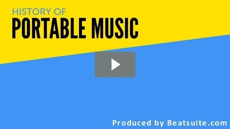 History of Portable Music | Beatsuite.com | Royalty Free Music | Scoop.it
