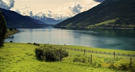 Val Venosta (Alto Adige) - Lago di Resia e campanile di Curon | Laghi in Italia | Scoop.it