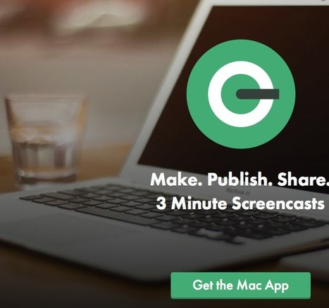 QuickCast. Make. Publish. Share. 3 Minute Screencasts | tecwrk | Scoop.it