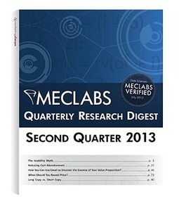 Research Digest   MECLABS   Web Analytics and Web Copy   Scoop.it