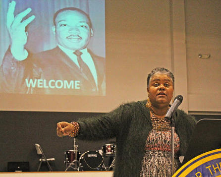 MLK Day speakers stress education  as source of hope | Working on a dream | Scoop.it