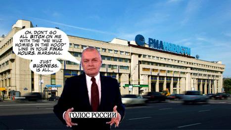 L'agence média russe RIA Novosti tire sa révérence. Un délire médiatique ?   Médias en Russie   Scoop.it