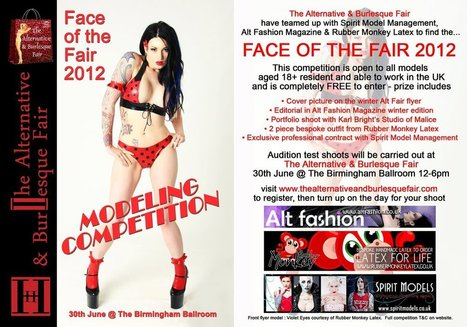 RUBBER MONKEY is a proud sponsor of the FACE OF THE FAIR... | LFN - latex fetish news | Scoop.it