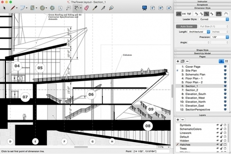 Layers and dimensions: A smarter LayOut for 2016 | SketchUp | Scoop.it