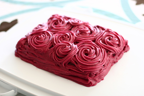 Chocolate Cake with Blackberry Buttercream Frosting | Dessert and Pudding Recipe Ideas | Delicious Desserts and Dessert Recipes | Scoop.it