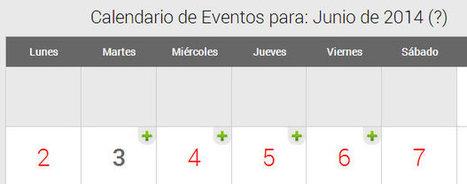 Actualización: Calendario con eventos en PHP y modales 2014 por Diseño Web Coruña Martín Iglesias | Diseño Web Coruña Martin Iglesias | Scoop.it