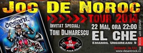 DESANT & TONI DIJMARESCU LIVE @ EL CHE Club Timisoara, Joi 22 Mai ora 22:00 | Facebook | Random stuff (music&books&other) | Scoop.it