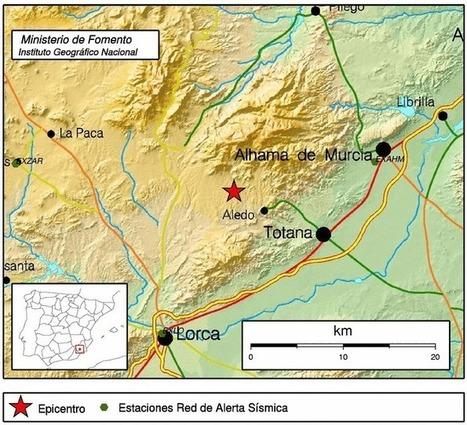 Un temblor de 2,7 grados alerta a los vecinos de Lorca y la comarca del Guadalentín | Noticias de turismo. Outsourcing de servicios y viajes. | Scoop.it