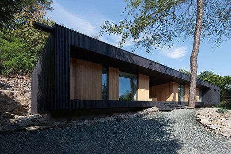 beres architects: hideg house on a stone quarry - designboom | architecture & design magazine | Design&Architecture | Scoop.it