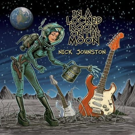 Interview with Nick Johnston; the Guitar Wiz Talks New Solo Album 'In A Locked Room On The Moon' | Guitar Outreach | Scoop.it