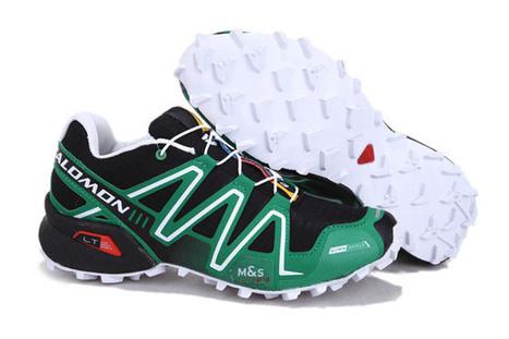 ens Salomon Speedcross 3 Trail-Running Shoes Outdoor Athletic Running Sports dark green black white | share list | Scoop.it