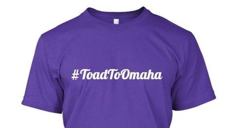 Get a #ToadToOmaha Shirt Today - Frogs O' War | Tee Shirts | Scoop.it