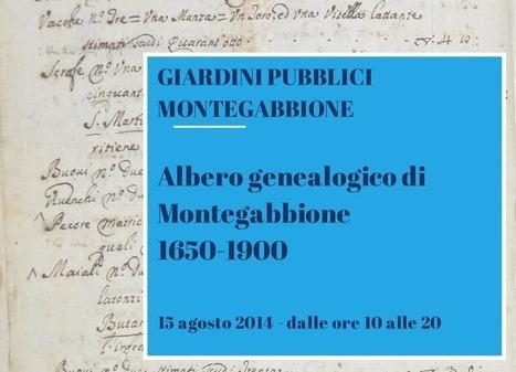 A Montegabbione istallano il primo albero genealogico del comune: dal 1650 al 1900 | Généal'italie | Scoop.it