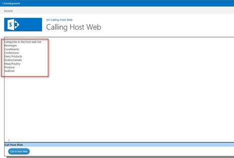 SharePoint 2013: How to access Host Web from SharePoint App/Add-in | Nova Tech Consulting S.r.l. | Scoop.it