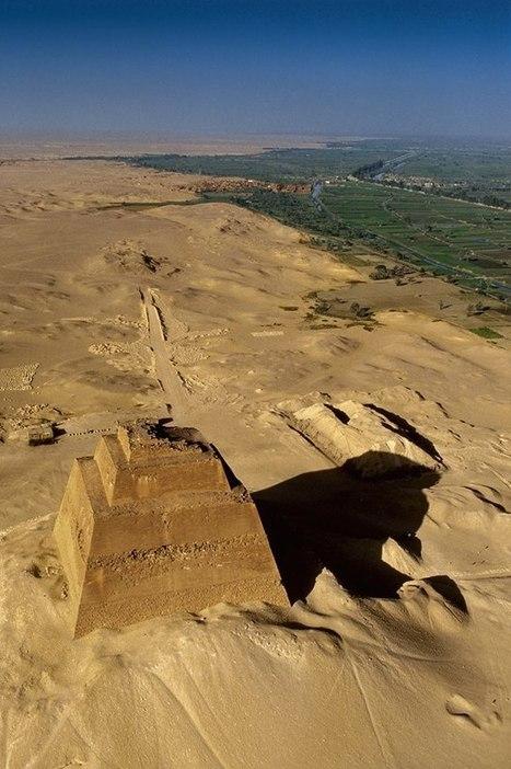 Curso: Arqueología de Egipto: Las otras pirámides del Reino Antiguo: Meidum y Dashur | Centro de Estudios Artísticos Elba | Scoop.it