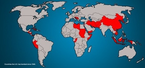 Twitter / Amazing_Maps: Countries that the US has bombed ... | Location Is Everywhere | Scoop.it