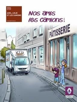 AlyonZenfants.fr: Renault Trucks édite un livre-jeux pour expliquer les camions aux enfants | LYFtv - Lyon | Scoop.it