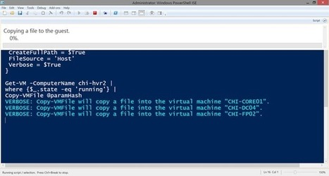 How to Copy Files between Hyper-V Host and Guests with PowerShell   Hyper-v and Windows Server, Office 365, Azure   Scoop.it