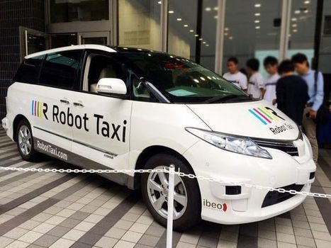 Driverless taxis could be the bullet train of the Tokyo 2020 Olympics | Technology in Business Today | Scoop.it