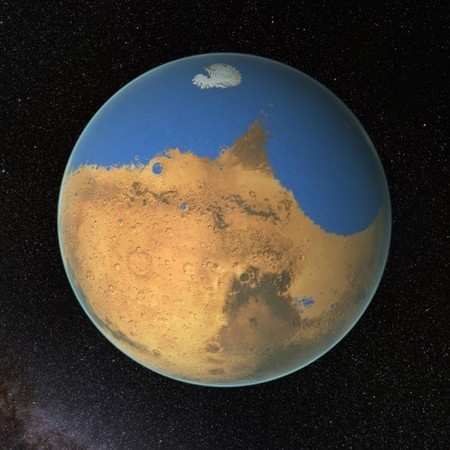 Mars may have had more water than the Arctic Ocean | Astrobiology | Scoop.it
