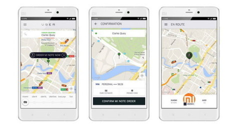 Xiaomi Partners With Uber For On-Demand Smartphone Delivery   eCommerce News   Scoop.it