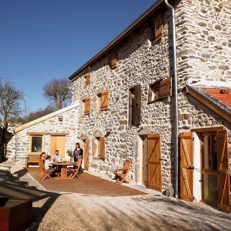 Gîte de luxe 5 épis en Auvergne pour 2/10 personnes, 43800 Rosières (Haute-Loire) | L'actualité des Gîtes de France | Scoop.it