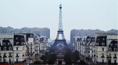 VIDEO: Chinese not so smitten by fake Paris | Paris France News | Scoop.it
