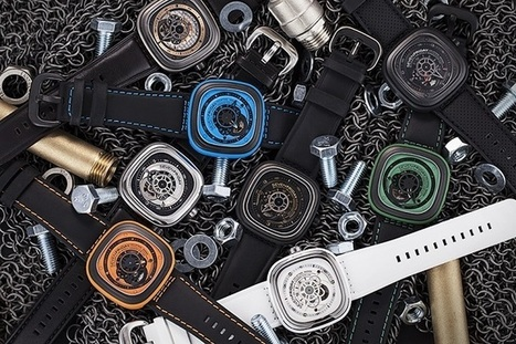 Discover SevenFriday Watches   luxury watches   Scoop.it