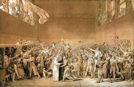 The Estates General meeting at the Tennis Court Oath | Bastille-Day.com | ATaleofTwoCities | Scoop.it