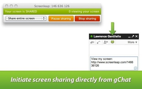 Screenleap for Gmail™ : Share your screen instantly from within Gmail... | Time to Learn | Scoop.it