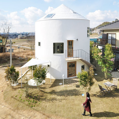 [Chiharada, Japan] 'Picturesque' House in Chiharada shpaed like a fairytale tower by Studio Velocity | The Architecture of the City | Scoop.it