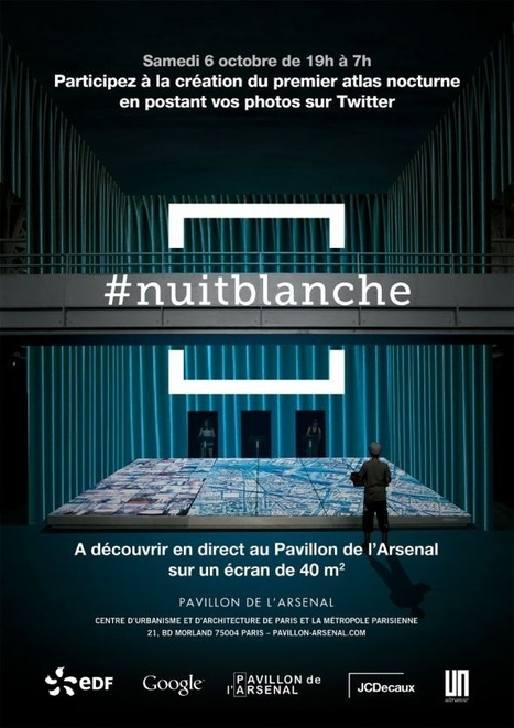 France : La Nuit Blanche animera en temps réel les concepts digitaux urbains de JCDecaux | Paris lifestyles | Scoop.it