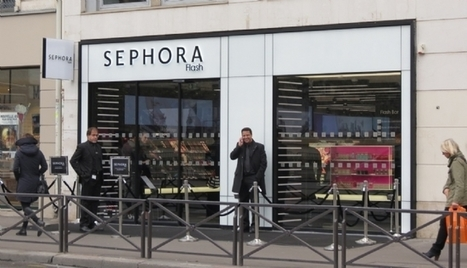 "Diaporama | [Retailoscope] Sephora ouvre ""Flash"", son premier magasin connecté 