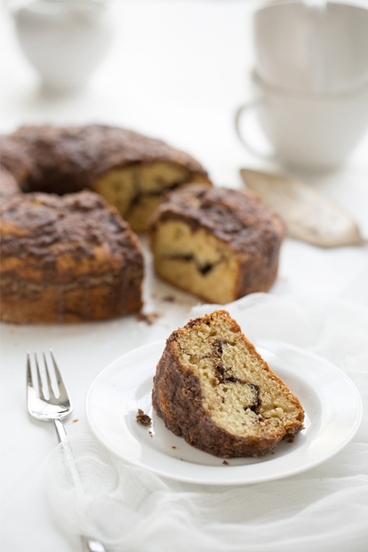Chocolate Swirl Coffee Cake. #Food #Recipes | The Man With The Golden Tongs Hands Are In The Oven | Scoop.it