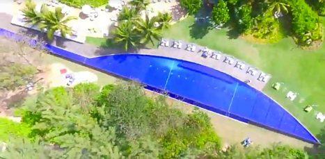 Le tout 1er Facebook Live vidéo en vol via Drone par un influenceur Facebook, Emery DOLIGE, s'est tenu a plus de 35 mètres, au-dessus du SO Sofitel Mauritius de Bel Ombre | Drone | Scoop.it