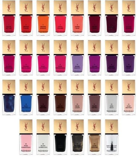 YSL La Laque Couture Colour Collection a perfect gift for Christmas | beauty | Scoop.it