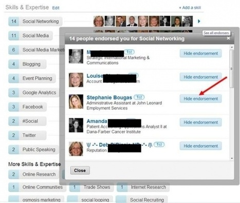 The Best Way To Manage LinkedIn Endorsements Is... - Social-Hire | Virtual Options: Social Media for Business | Scoop.it