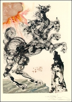 Divine Comedy Illustrations by Salvador Dali | Dante's Inferno | Scoop.it