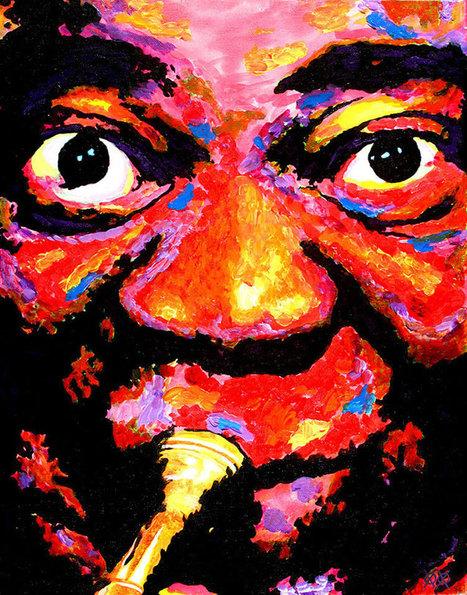 Blind artist John Bramblitt creates colorful paintings | Art-Arte-Cultura | Scoop.it