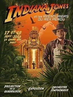 Saga Indiana Jones au Grand Rex de Paris   HiddenTavern   Scoop.it