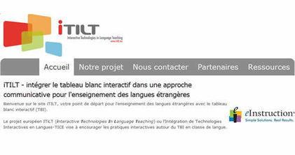 Intégrer le TBI dans l'enseignement des langues : iTILT sur ludovia.com | TELT | Scoop.it